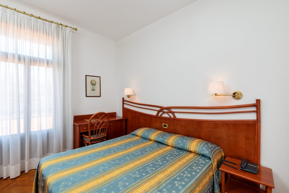 Comfort e servizi nelle camere matrimoniali a Venezia Lido
