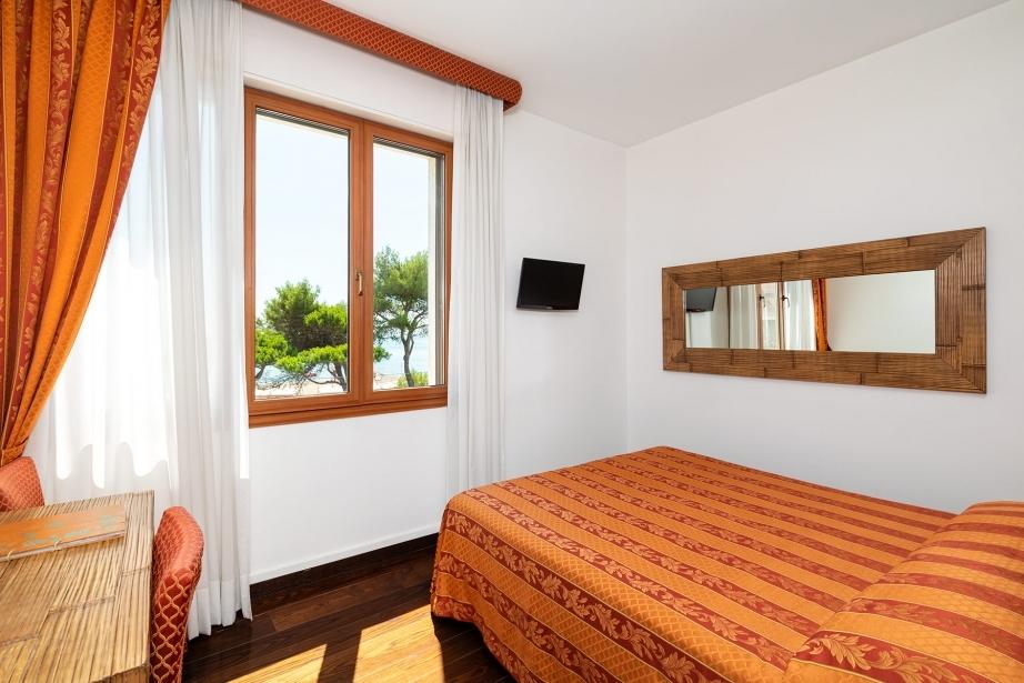 Tante comodità nelle camere singole di Hotel Rivamare